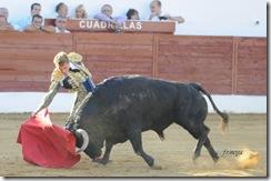 Consuegra javier Cortés derechazo