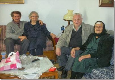 16-2-2014 , Nικ,Αναδιώτης , γιος κυρα  Λένης , Ελένη  Λιάπη Κων. Λακαφώσης και  αδελφή  Ελένης