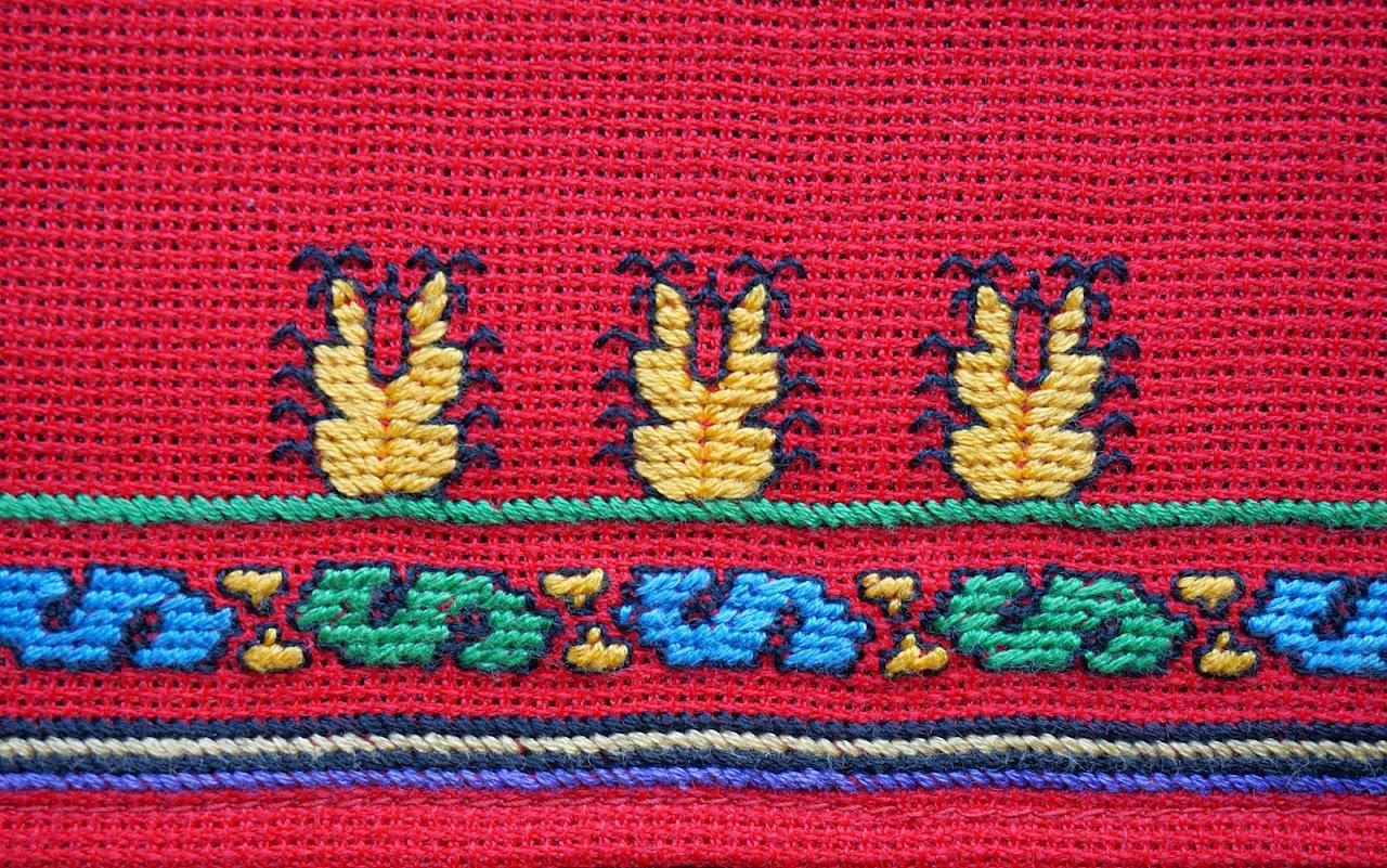 Чувашская вышивка и орнамент символика цвет