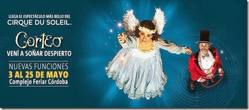 entradas cirque du soleil en cordoba Mayo 2014 primera fila