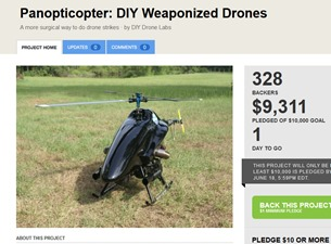 DIY Weaponized drones