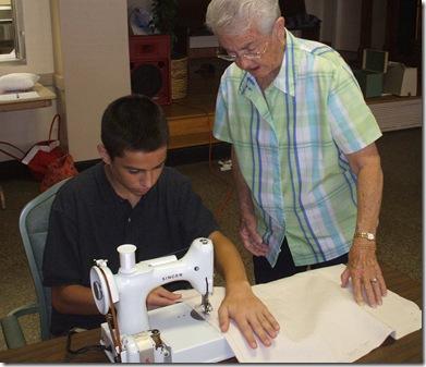 daniel sewing