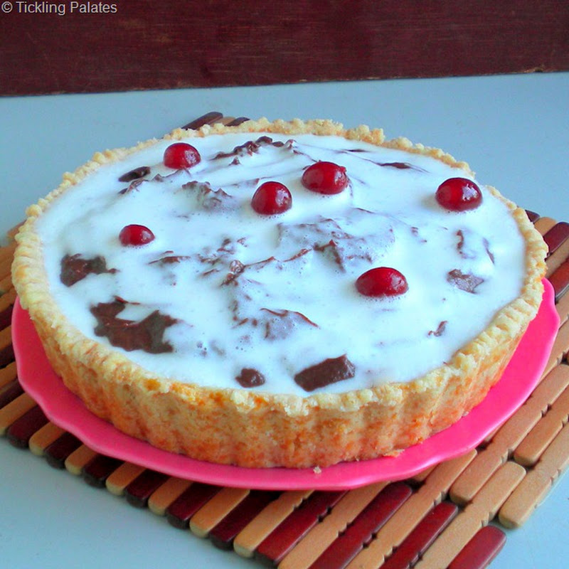 Chocolate Pudding Pie ~ Step by Step
