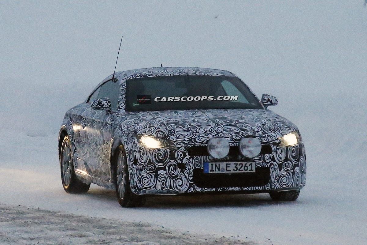Spy Shots Audi Gives 2015 TT Coupe the Winter Exam