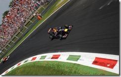 Vettel vince il gran premio d'Italia 2011