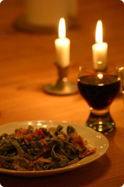 Med rødvin til - ska' der være fest...