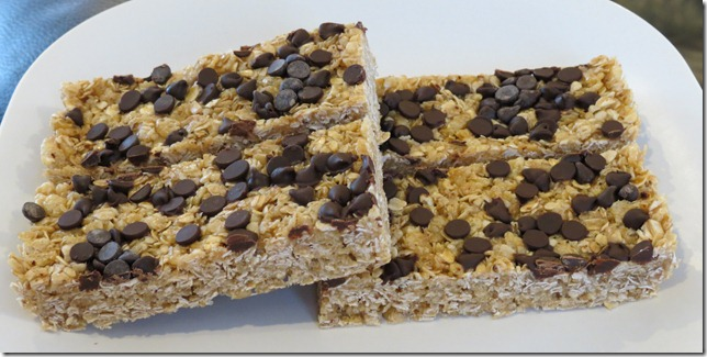 No bake Granola Bars 1-15-13