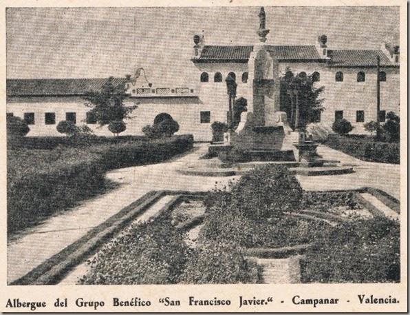 1945 Grupo San Francisco Javier, Campanar.