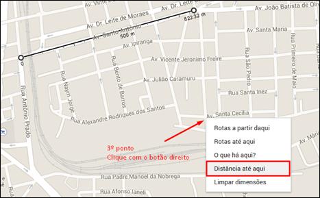 Agora você poderá medir distâncias no Google Maps - Visual Dicas