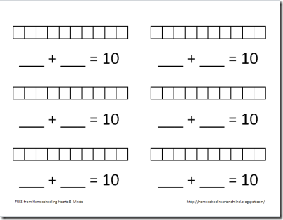 different tens worksheet thumbnail