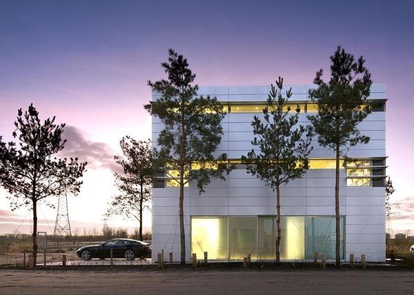 Fachada-de-casa-moderna-Hans-van-Heeswijk-Arquitectos