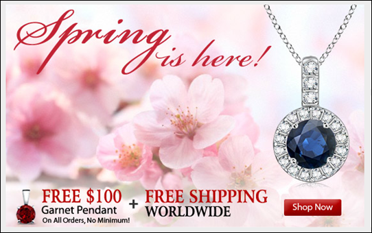 Angara Springtime Jewelry Offer