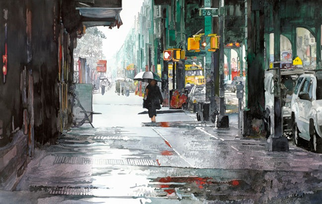 "New Utrecht Avenue 39""x24.74"""