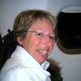 Maryline dans l'avion