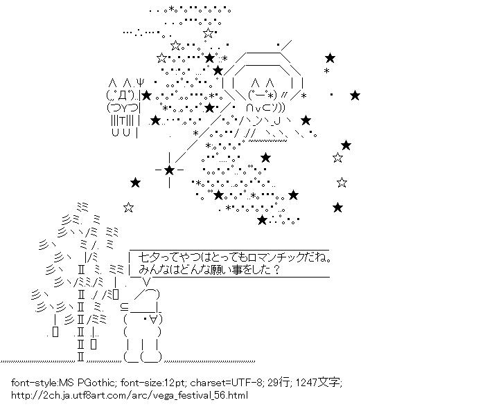 七夕,短冊,竹,天の川