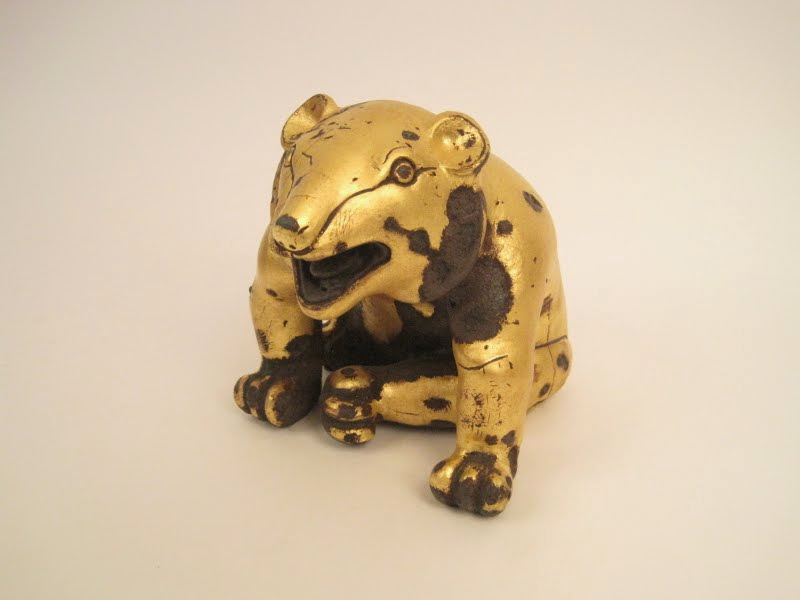 MMA Gilted Bear Figure