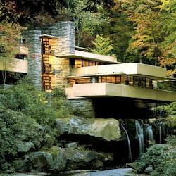 08.- F. Lloyd Wright. Casa de la Cascada