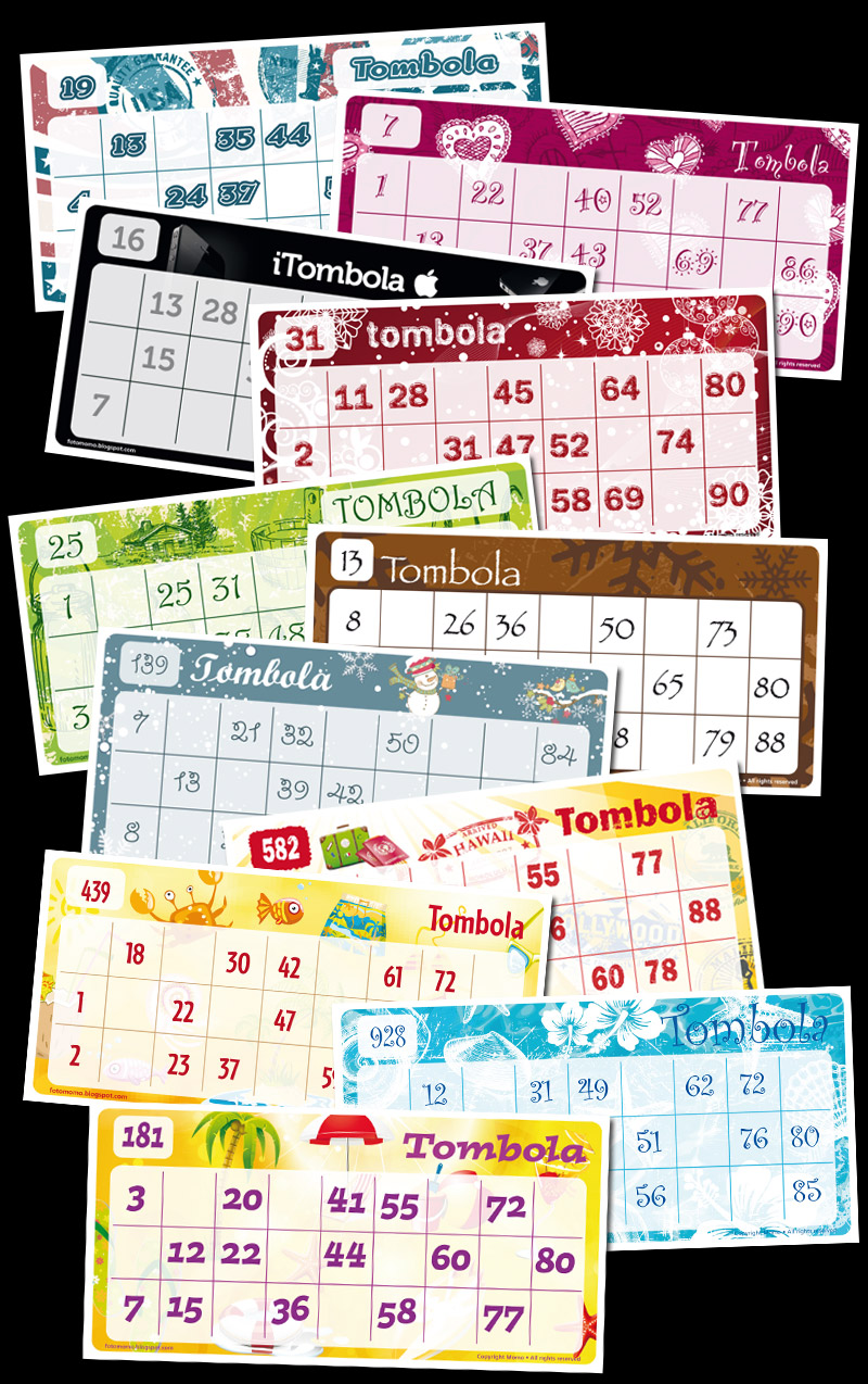 Insieme cartelle 2011