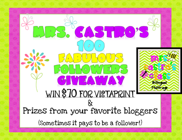 Castros 100 Followers Giveaway Simple