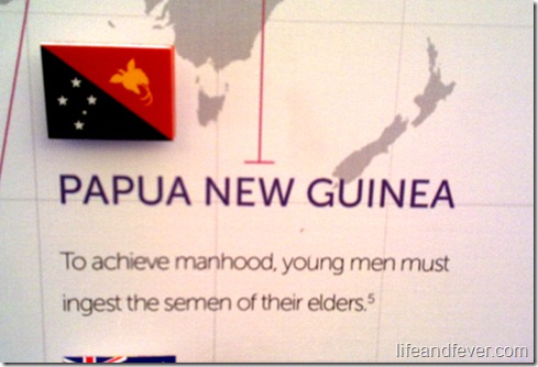 Papua New Guinea sex trivia
