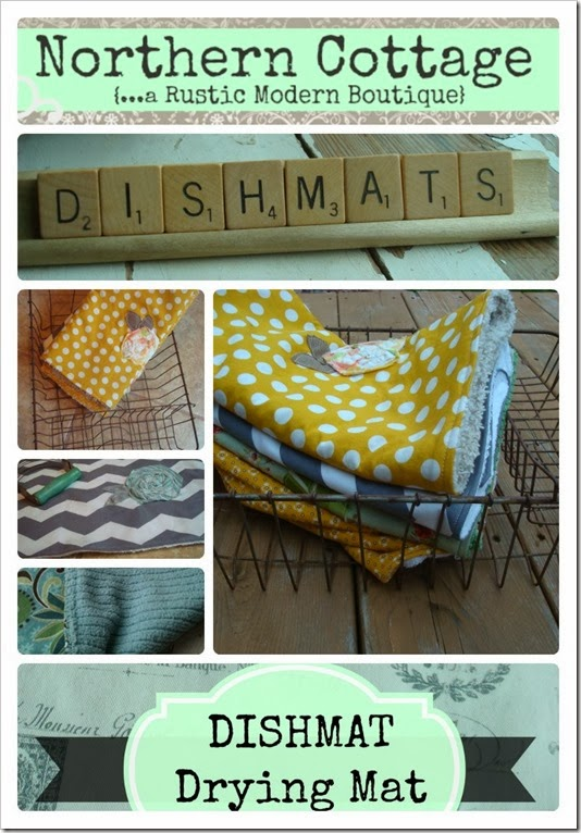 Dishmat collage