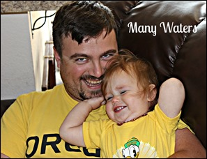 Many Waters Father Daughter Oregon Ducks