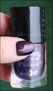 L'Oreal Paris Resist & Shine Titanium - Black Violet 8