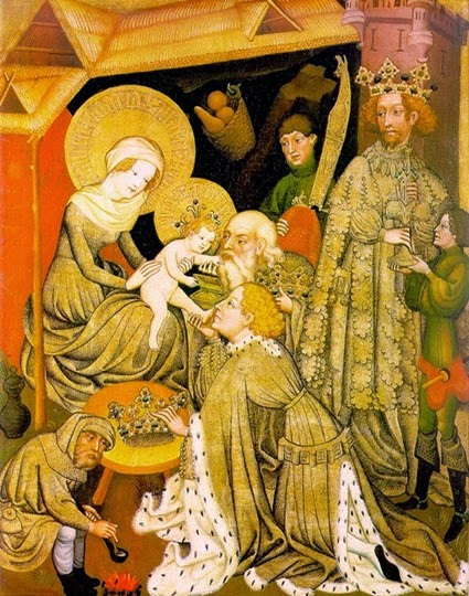 adoration of magi  unknoen master germain 1420