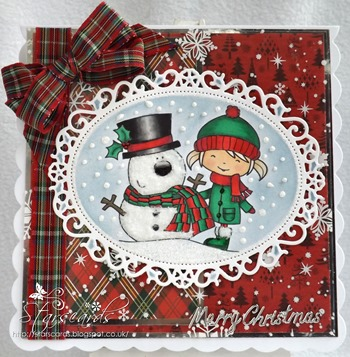 rosie and snowman crop