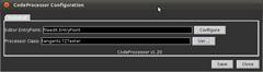 Screenshot-CodeProcessor Configuration