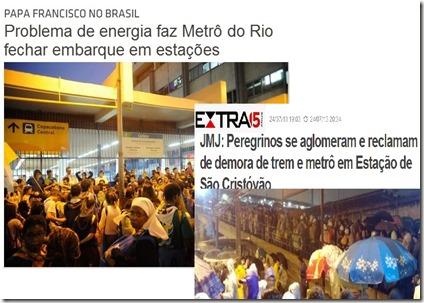 OPapa e o metro