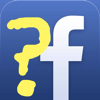 Yellow Question Mark followed by the FaceBook Icon