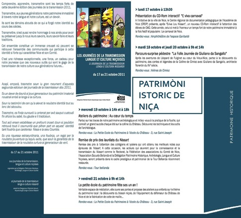 Jornada de transmission Niça