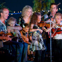 Natalie MacMaster and Leahy Family 2013, by Peter Redman