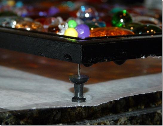 Glass Mosaic Drying