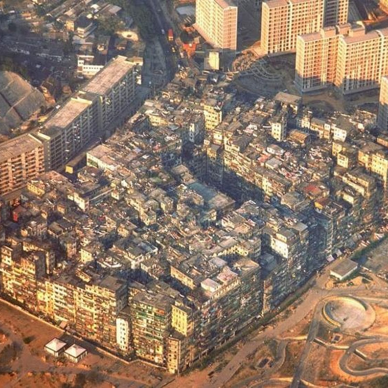 Kowloon Walled City, a Population Density Nightmare