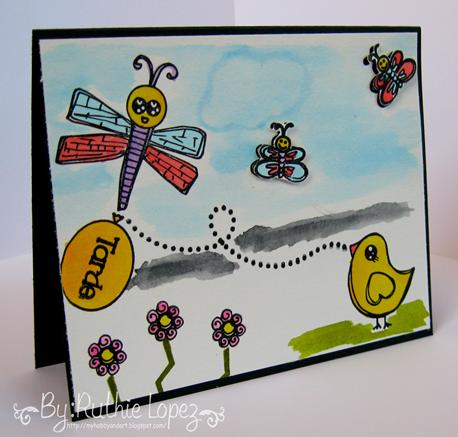 Color paws - Feliz cumpleaños atrasado - Ruthie Lopez - My Hobby = My Art