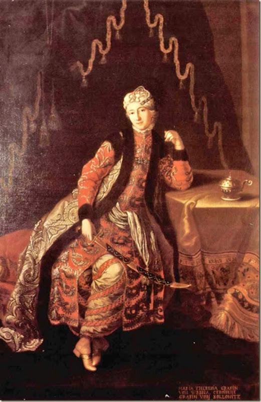 Nicolas de Largillière, Lady en costume de sultane