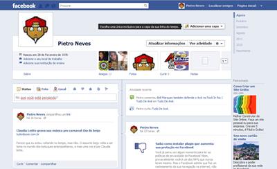 Como instalar a Capa no seu Perfil do Facebook