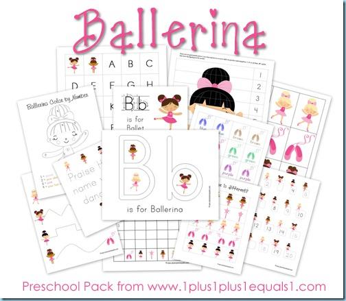 Ballet Preschool Pack