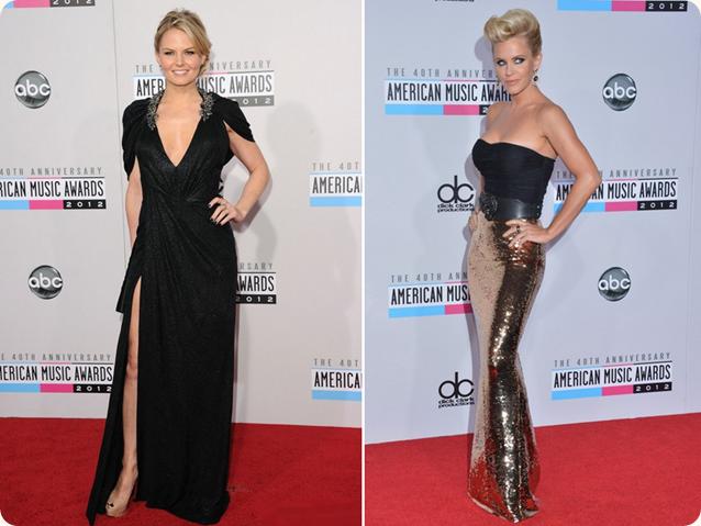AMA 2012, Nokia, premiação, red carpet, Jennifer Morrison, Jenny McCarthy