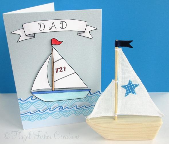 2013June19 nautical boat make card 2