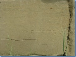 1912 Alberta - Writing-On-Stone Provincial Park - Battle Scene Trail -The Battle Scene petroglyphs