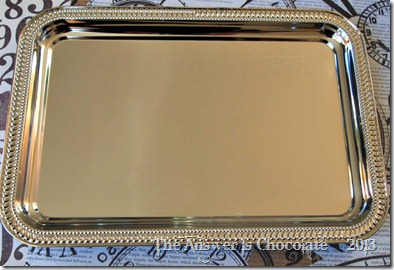 Dollar Tree Silver Tray