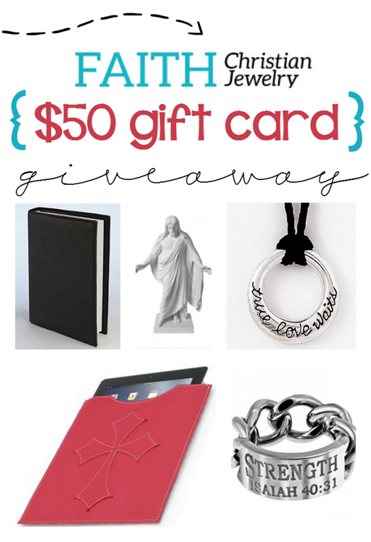 Faith Christian Jewelry $50 Giftcard Giveaway at GingerSnapCrafts.com #giveaway #spon_thumb[12]