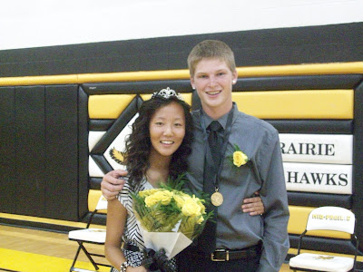 Leah Parrott and Chase Murray