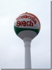 Water tower at Pensacola Beach