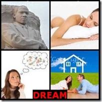 DREAM- 4 Pics 1 Word Answers 3 Letters