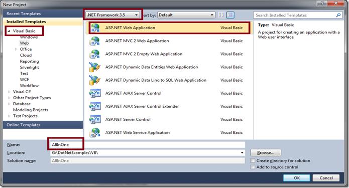 VB-ASPDotNet-Application
