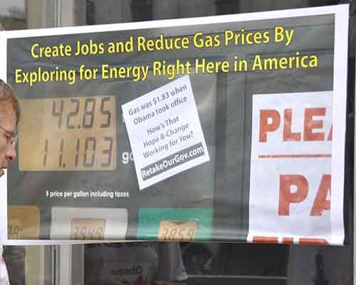 gas was $1.83/gallon when Obama took office